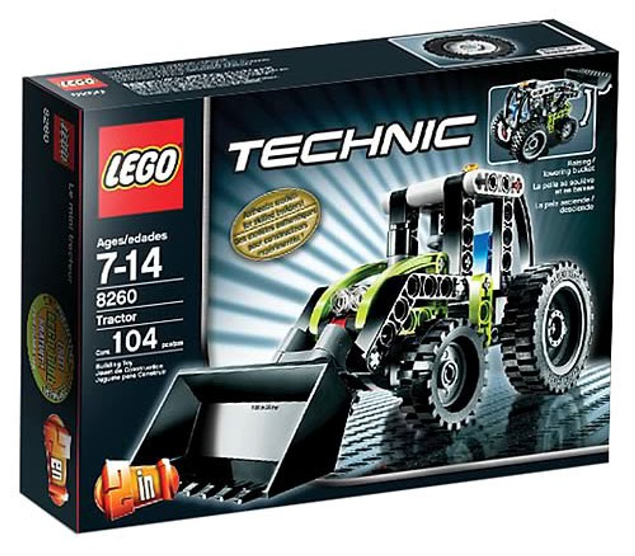 LEGO Technic Tractor Set #8260