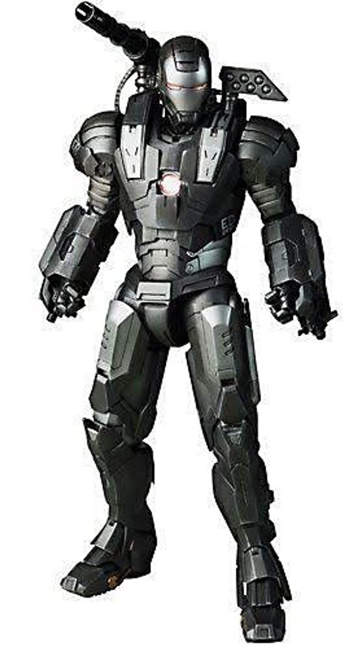 Iron Man 2 Movie Masterpiece War Machine 1/6 Collectible Figure