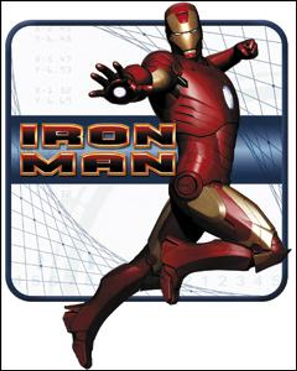 Marvel Iron Man Pose Sticker