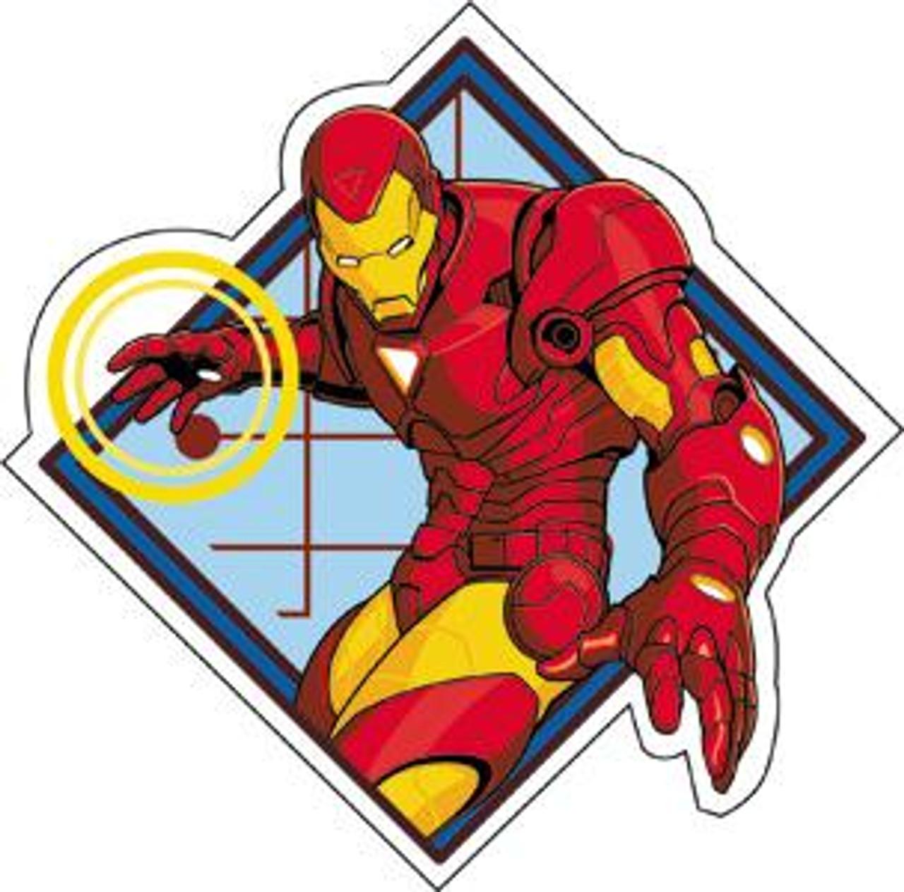Marvel Iron Man Invincible Sticker