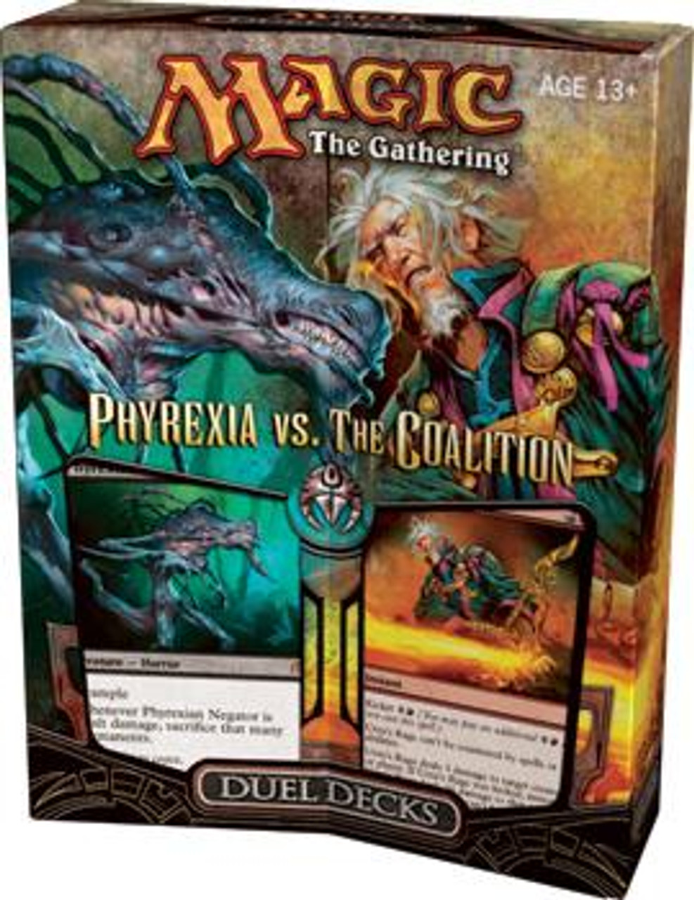MtG Duel Decks: Phyrexia vs. the Coalition Phyrexia vs. the Coalition Duel Decks [Sealed]