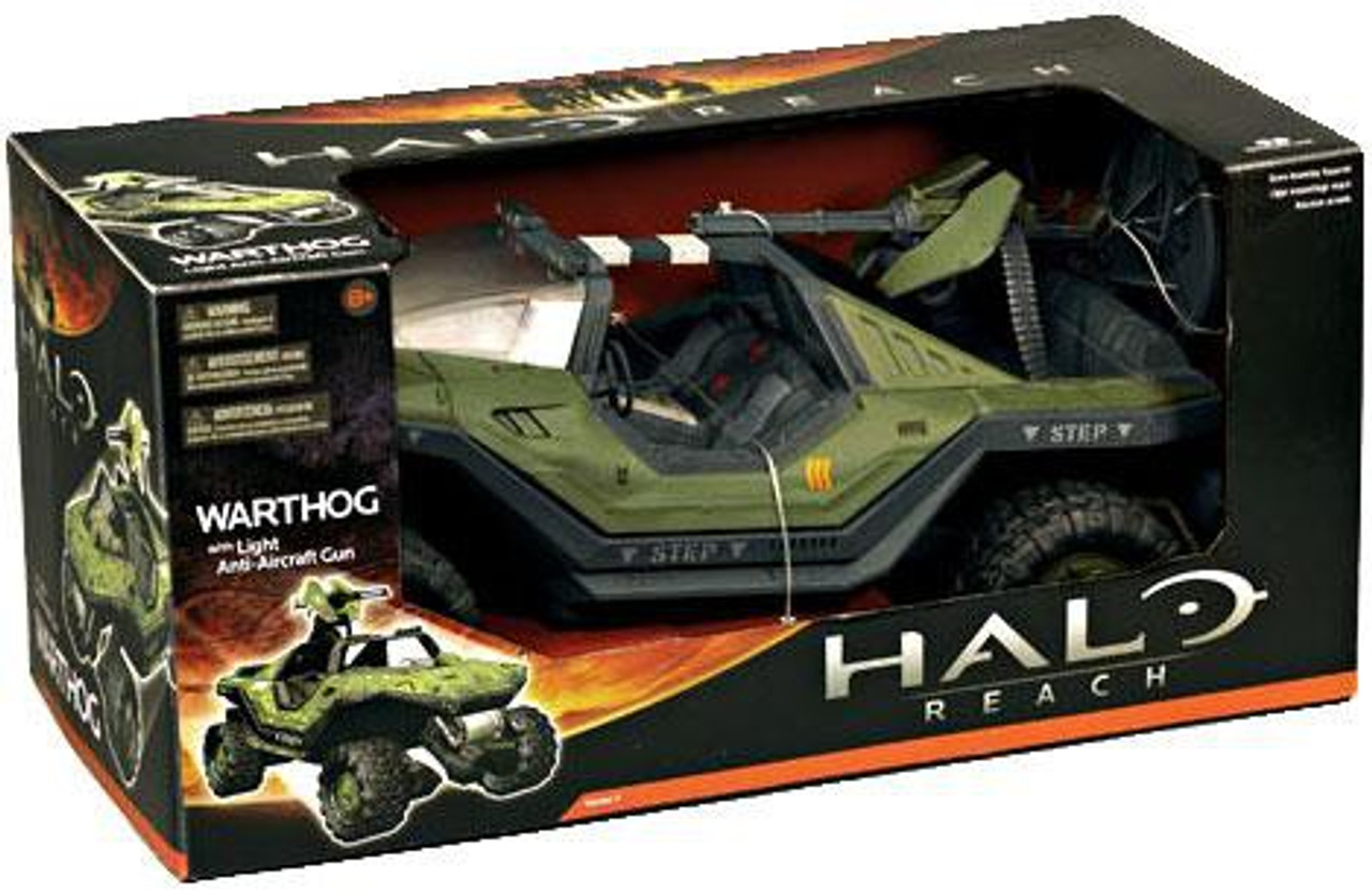 McFarlane Toys Halo Reach Series 1 Warthog with Light Anti-Aircraft Gun Action Figure Vehicle