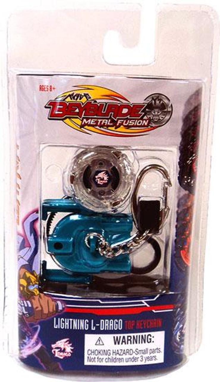 Beyblade Metal Fusion Series 2 Lightning L-Drago Keychain