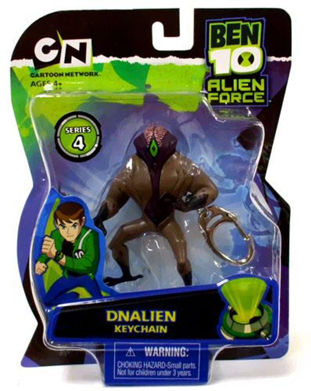 Ben 10 Alien Force Series 4 DNAlien Keychain