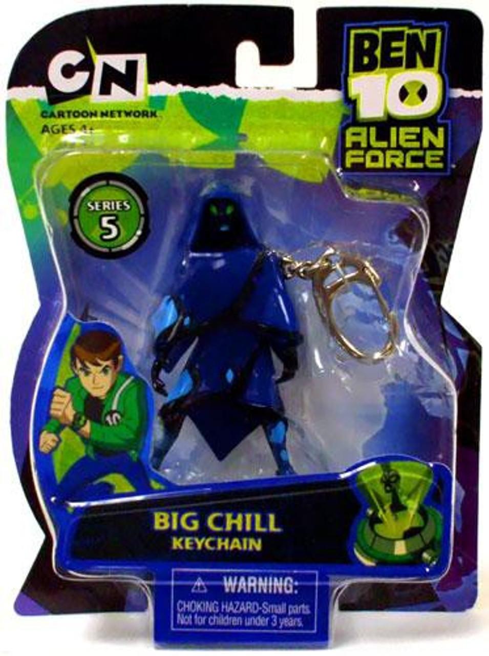Ben 10 Alien Force Series 5 Big Chill Keychain