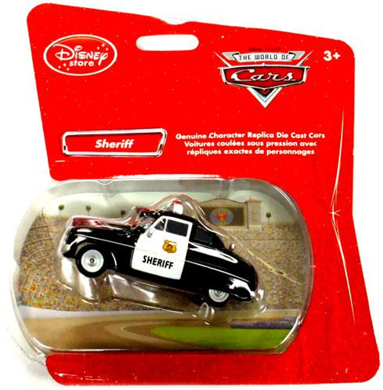 Disney Cars 1:48 Single Packs Sheriff Exclusive Diecast Car