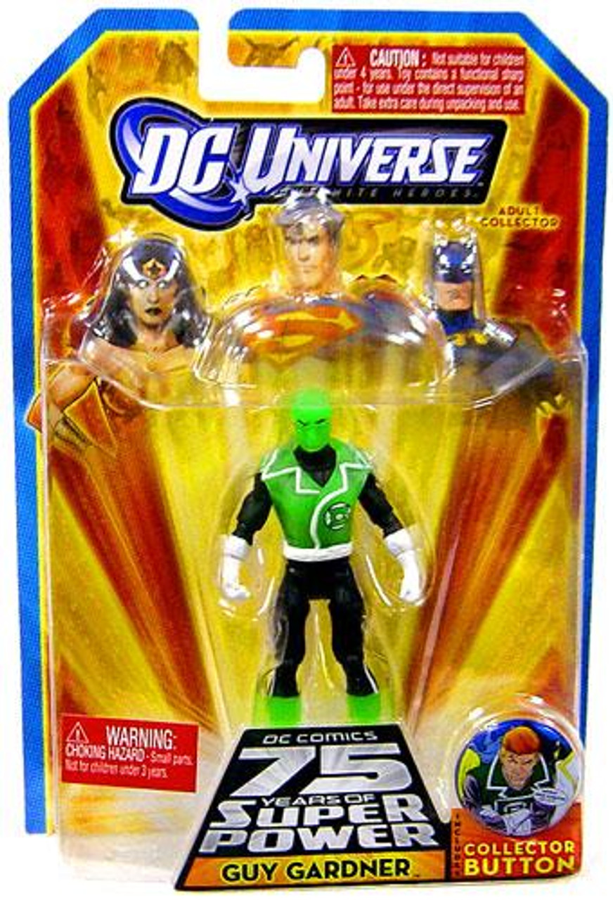 DC Universe 75 Years of Super Power Infinite Heroes Guy Gardner Action Figure