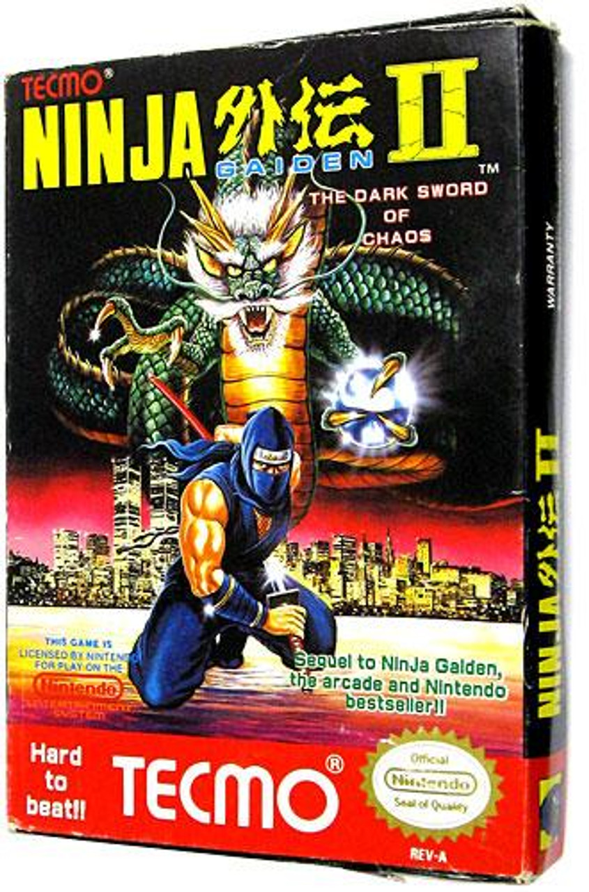 Nintendo NES Ninja Gaiden II: The Dark Sword of Chaos Video Game Cartridge [Complete, Opened]