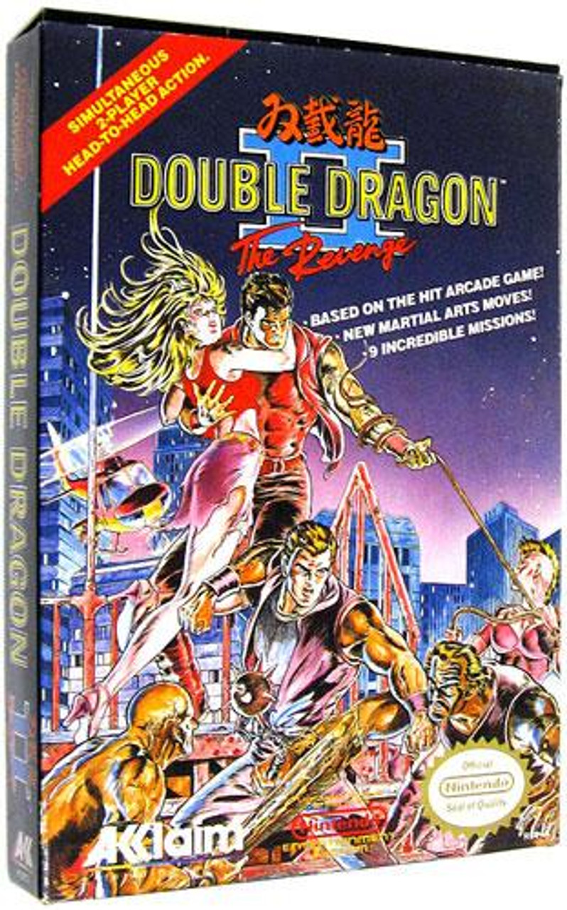 Capcom Nintendo NES Double Dragon II: The Revenge Video Game Cartridge