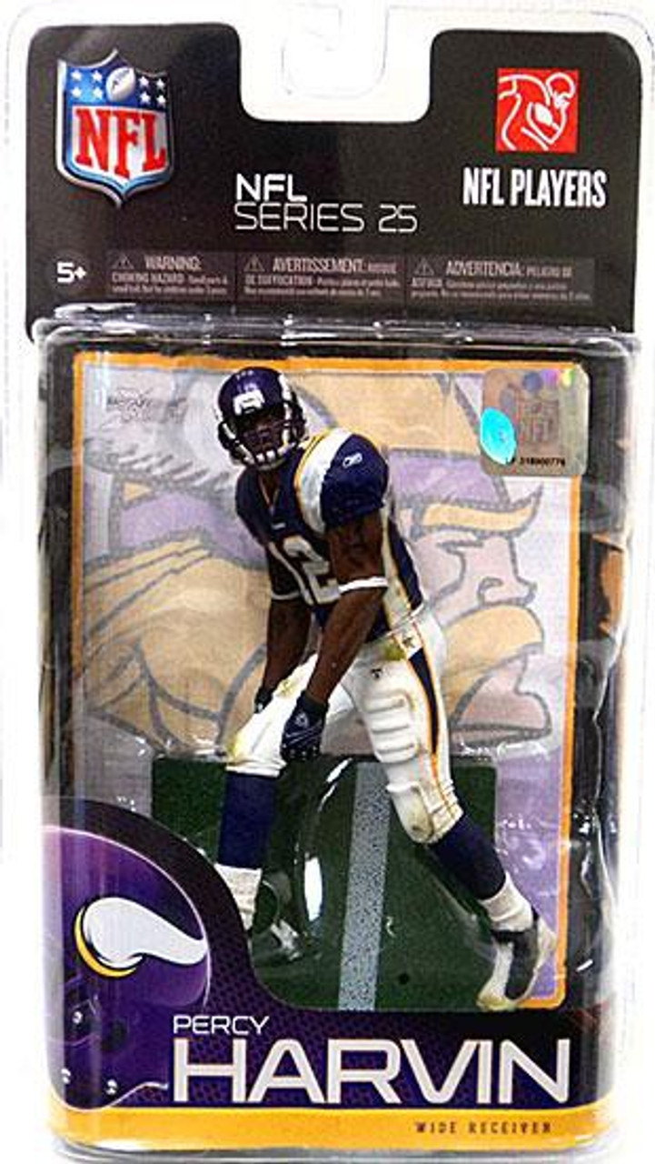 McFarlane Toys NFL Minnesota Vikings Sports Picks Series 25 Percy Harvin Action Figure
