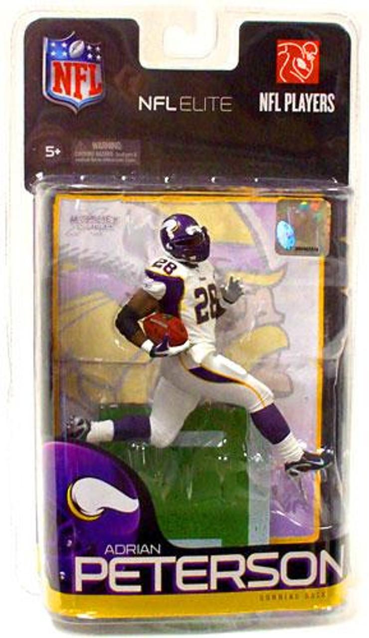McFarlane Toys NFL Minnesota Vikings Sports Picks Elite Series 1 Adrian Peterson Exclusive Action Figure
