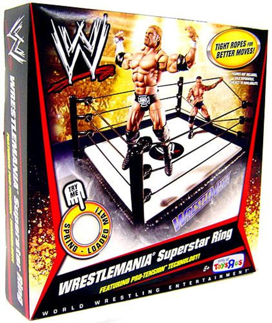 WWE Wrestling Wrestlemania Exclusive Superstar Ring