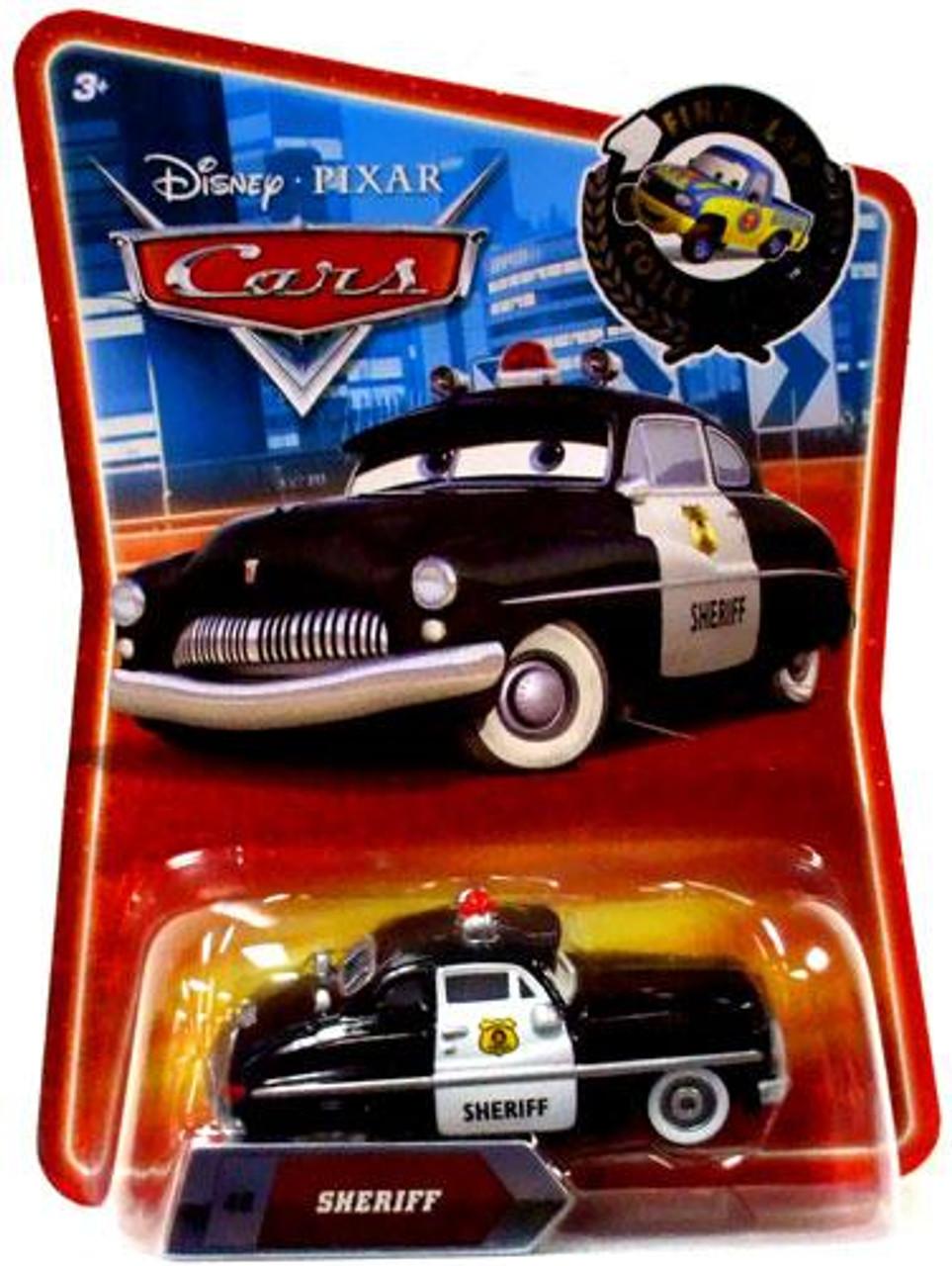 Disney Cars Final Lap Collection Sheriff Exclusive Diecast Car