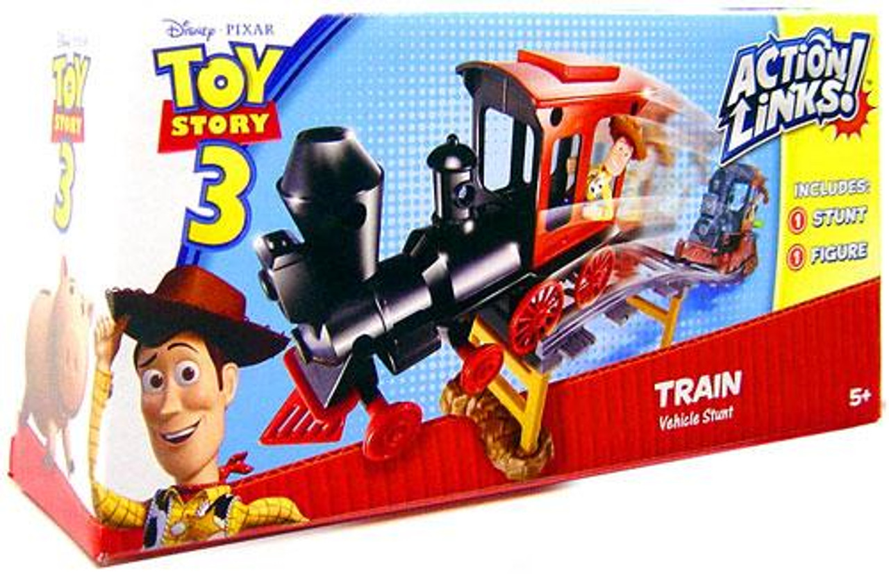 Toy Story 3 Action Links Vehicle Stunt Train Vehicle Playset