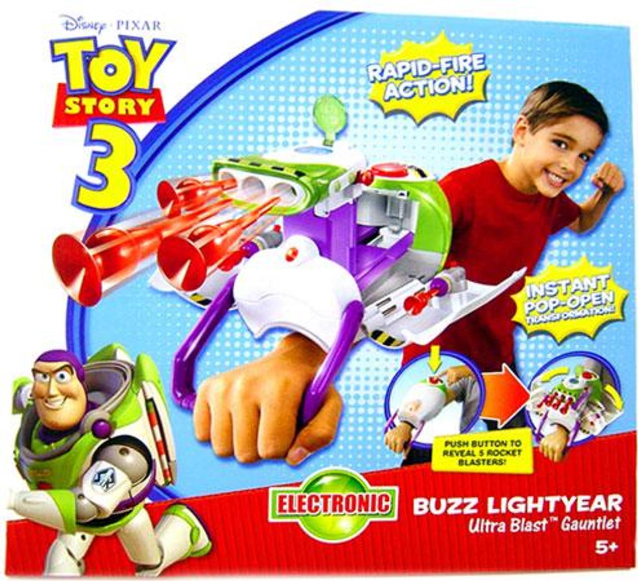 Toy Story 3 Buzz Lightyear Ultra Blast Gauntlet Roleplay Toy