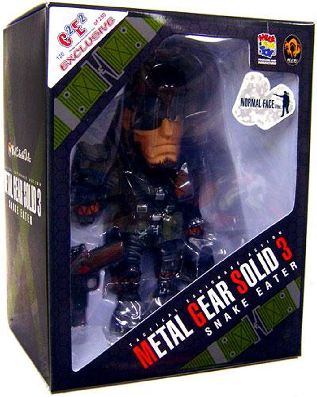 Metal Gear Solid 3 Naked Snake Vinyl Collectible Doll