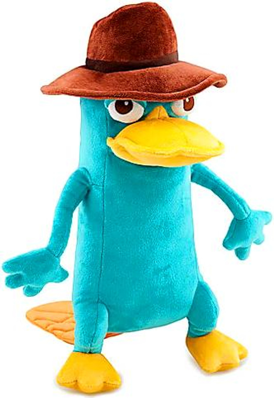 Disney Phineas and Ferb Agent P Exclusive 13-Inch Plush [Perry the Platypus]