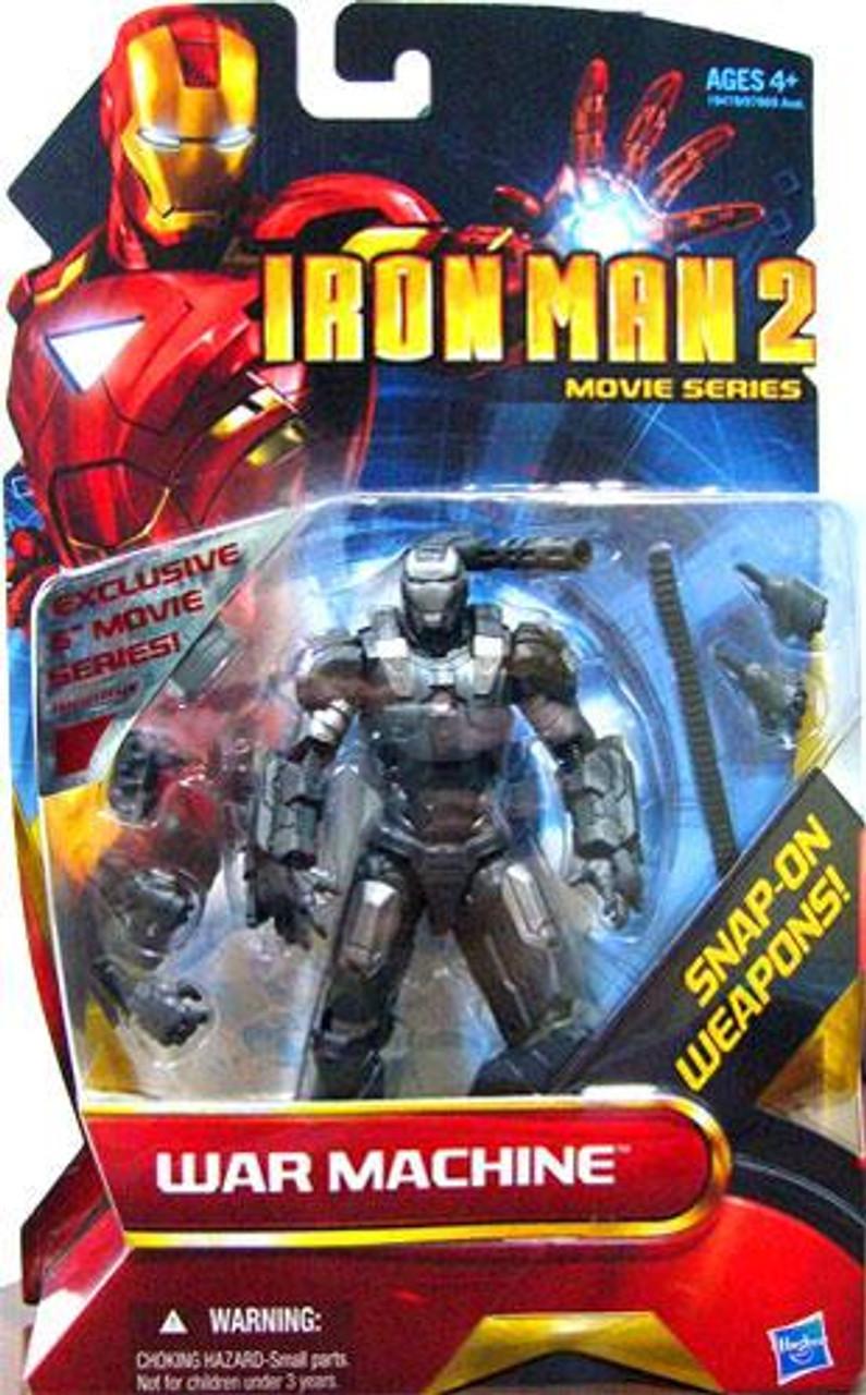 Iron Man 2 Movie Series War Machine Exclusive Action Figure