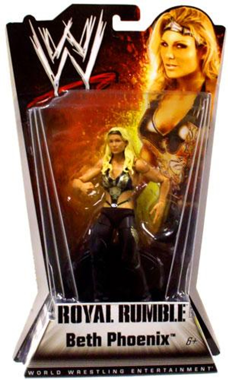 WWE Wrestling Royal Rumble Series 1 Beth Phoenix Action Figure