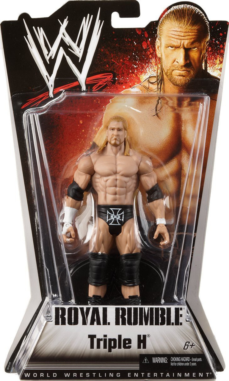 WWE Wrestling Royal Rumble Series 1 Triple H Action Figure