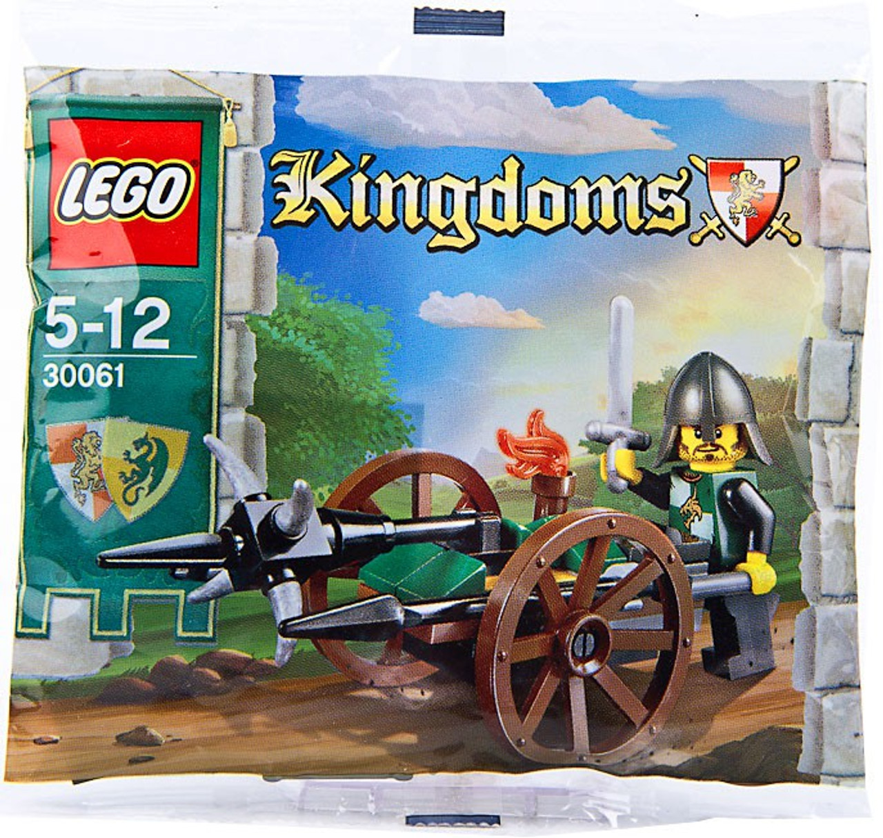 LEGO Knights Kingdom Siege Cart Mini Set #30061 [Bagged]