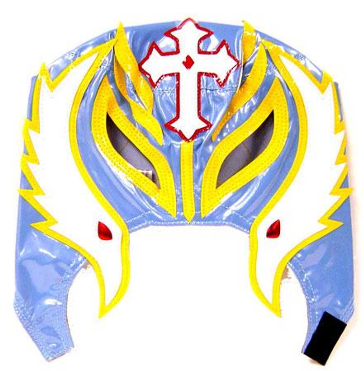 WWE Wrestling Rey Mysterio Replica Mask [Youth, Light Blue & Yellow]