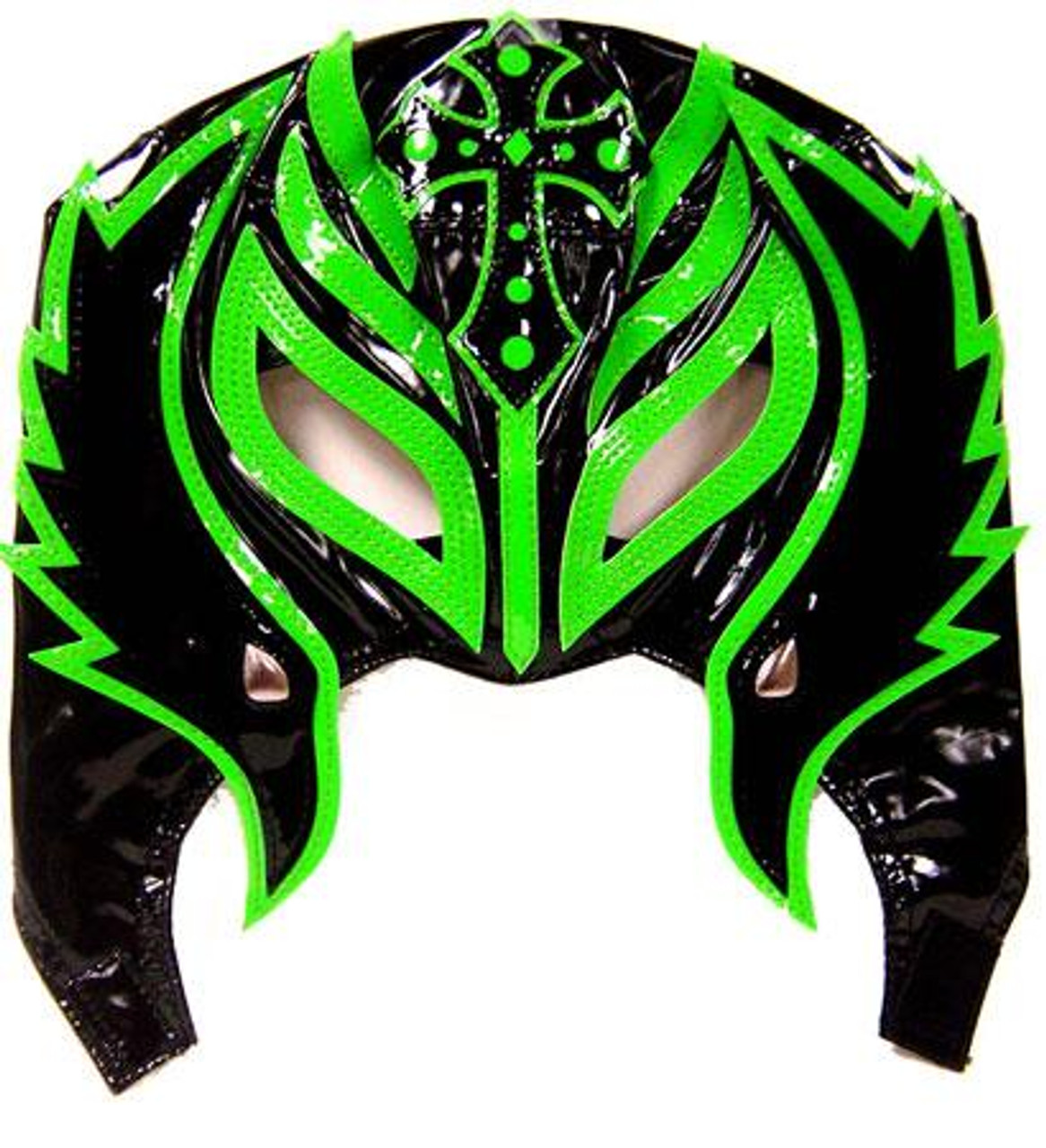 WWE Wrestling Rey Mysterio Replica Mask [Youth, Green & Black]