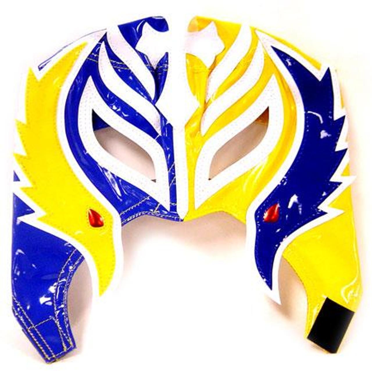 WWE Wrestling Rey Mysterio Replica Mask [Youth, Blue & Yellow]