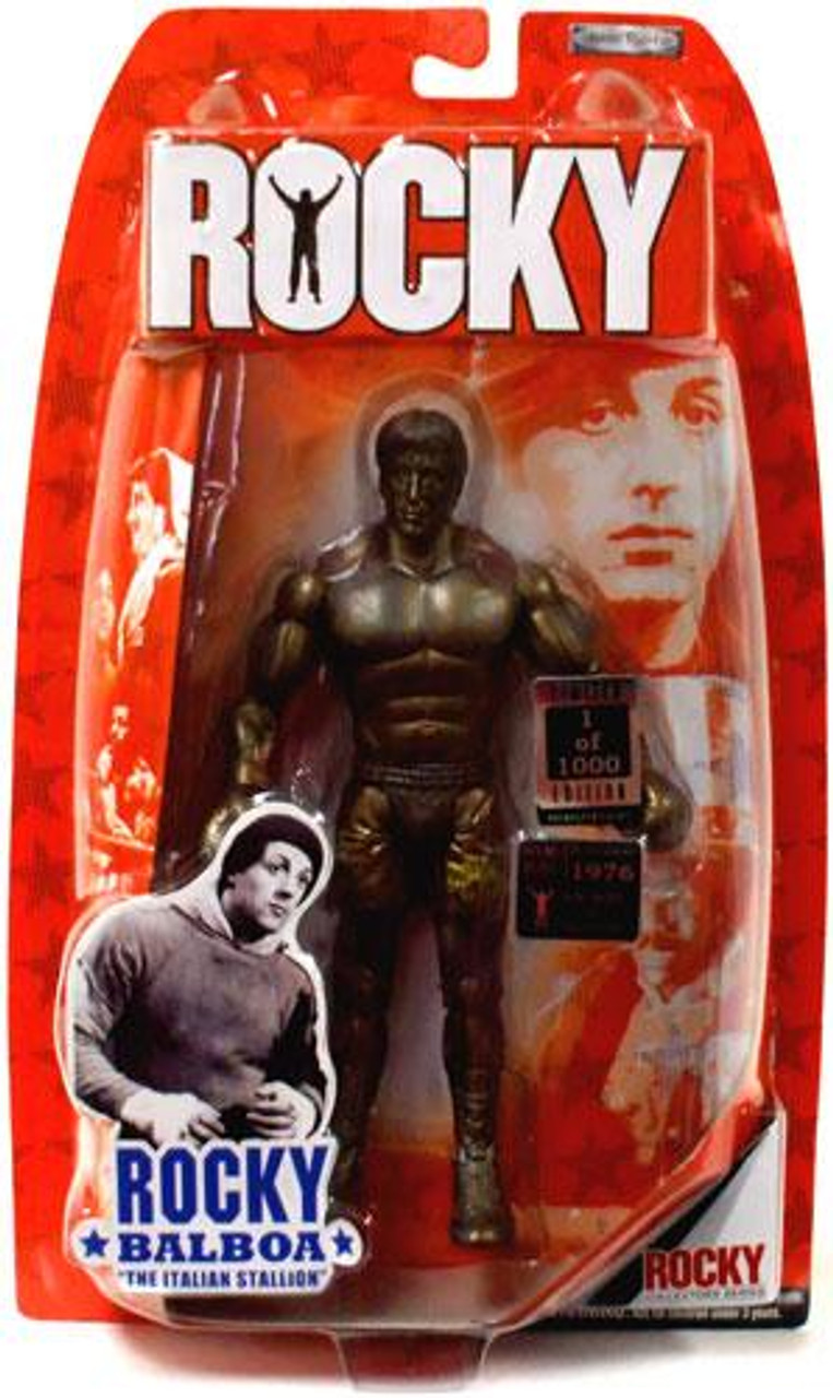 Rocky IV Rocky Balboa Action Figure 2-Pack [Bronze Statue]