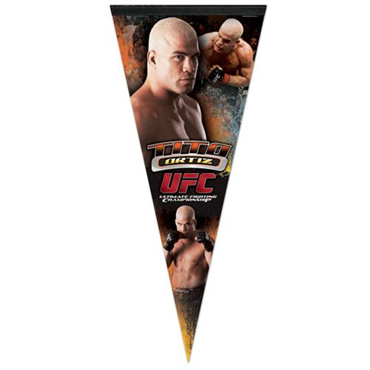 UFC Tito Ortiz Pennant