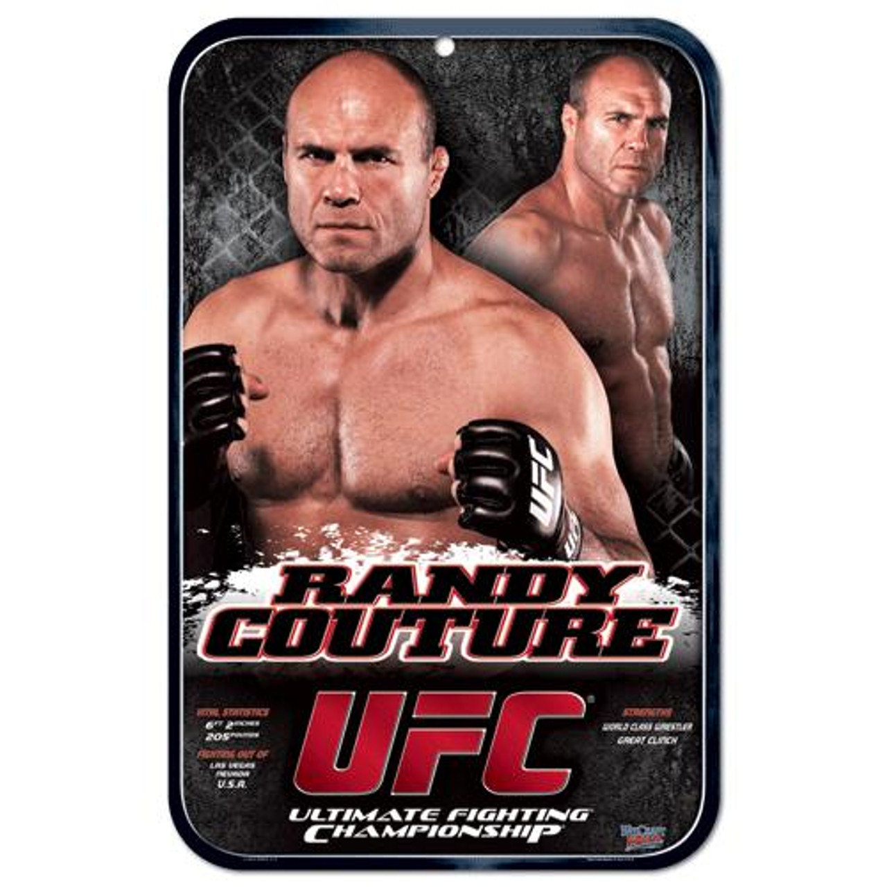 UFC Randy Couture Sign