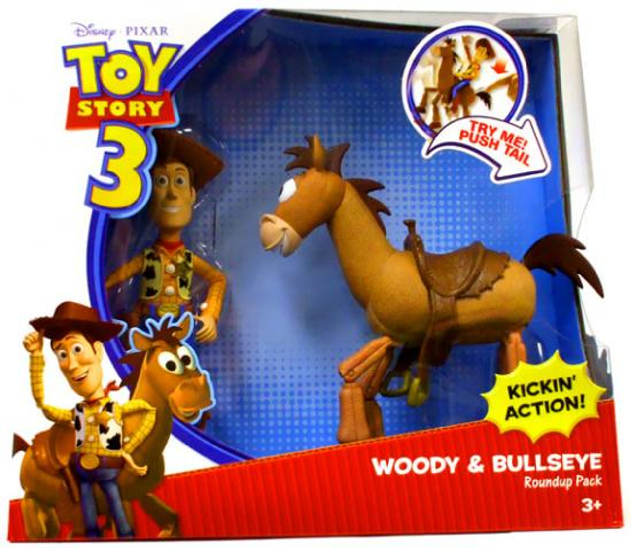 Toy Story 3 Woody & Bullseye Roundup Pack Action Figure 2-Pack