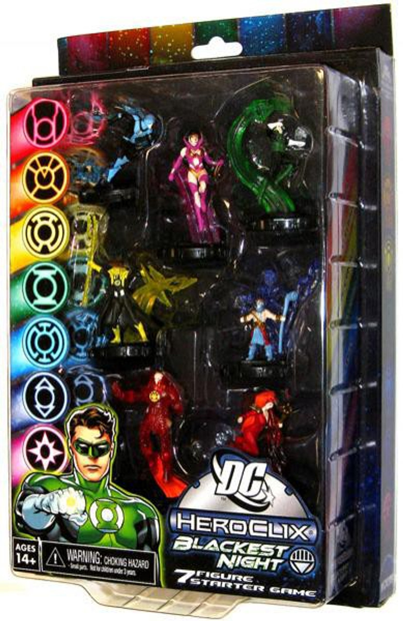 DC HeroClix Green Lantern Blackest Night Starter Game