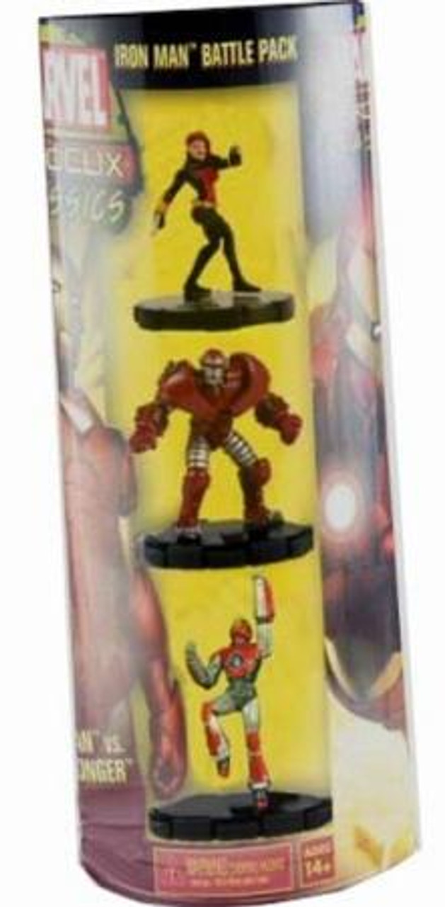 Marvel HeroClix Classics Iron Man Battle Pack Figure 3-Pack
