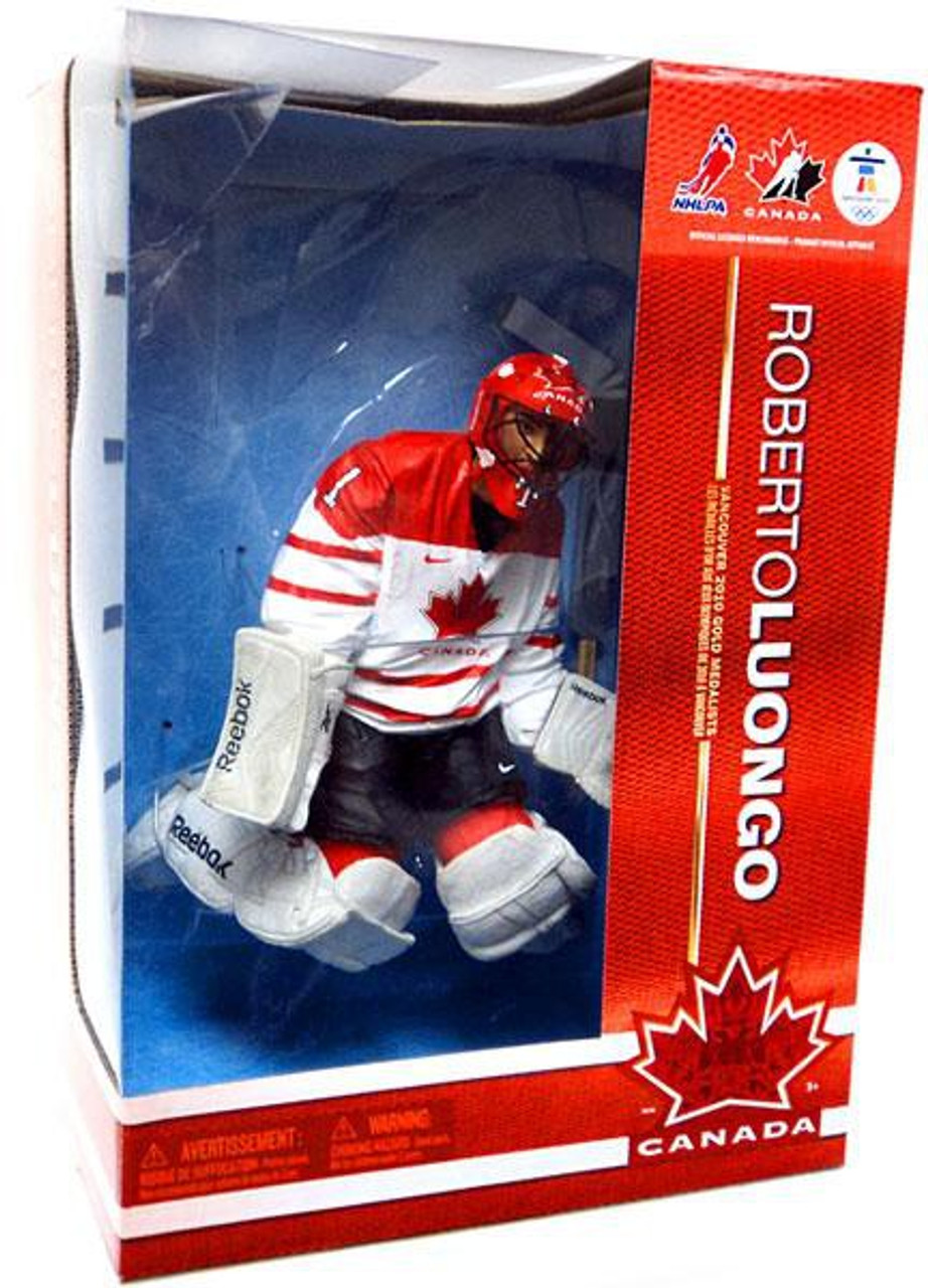 McFarlane Toys NHL Team Canada Sports Picks 12 Inch Deluxe Roberto Luongo Action Figure