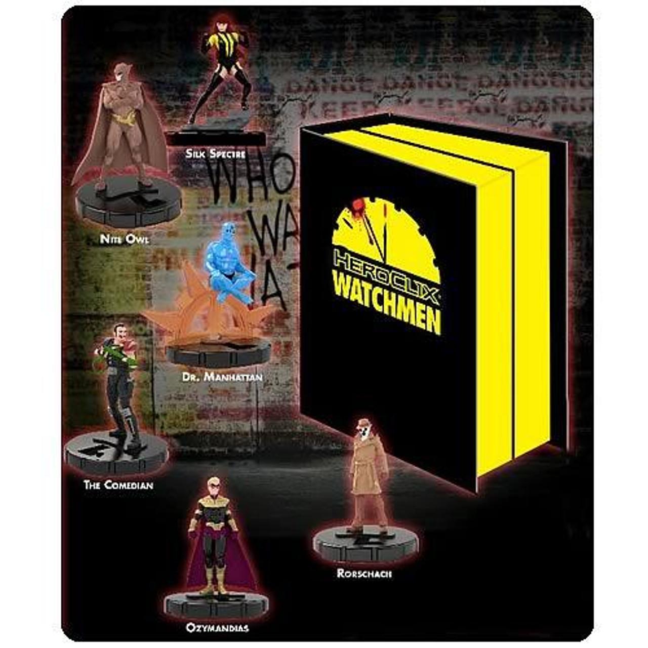 DC HeroClix Watchmen Deluxe Collector's Set
