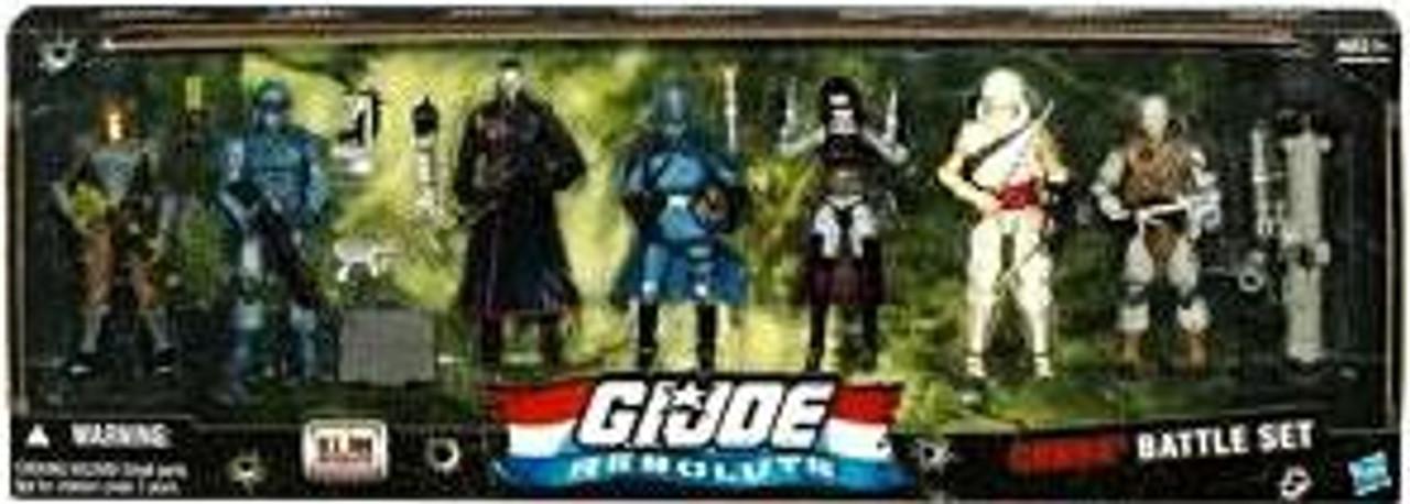 GI Joe Resolute Cobra Battle Set Action Figure 7-Pack