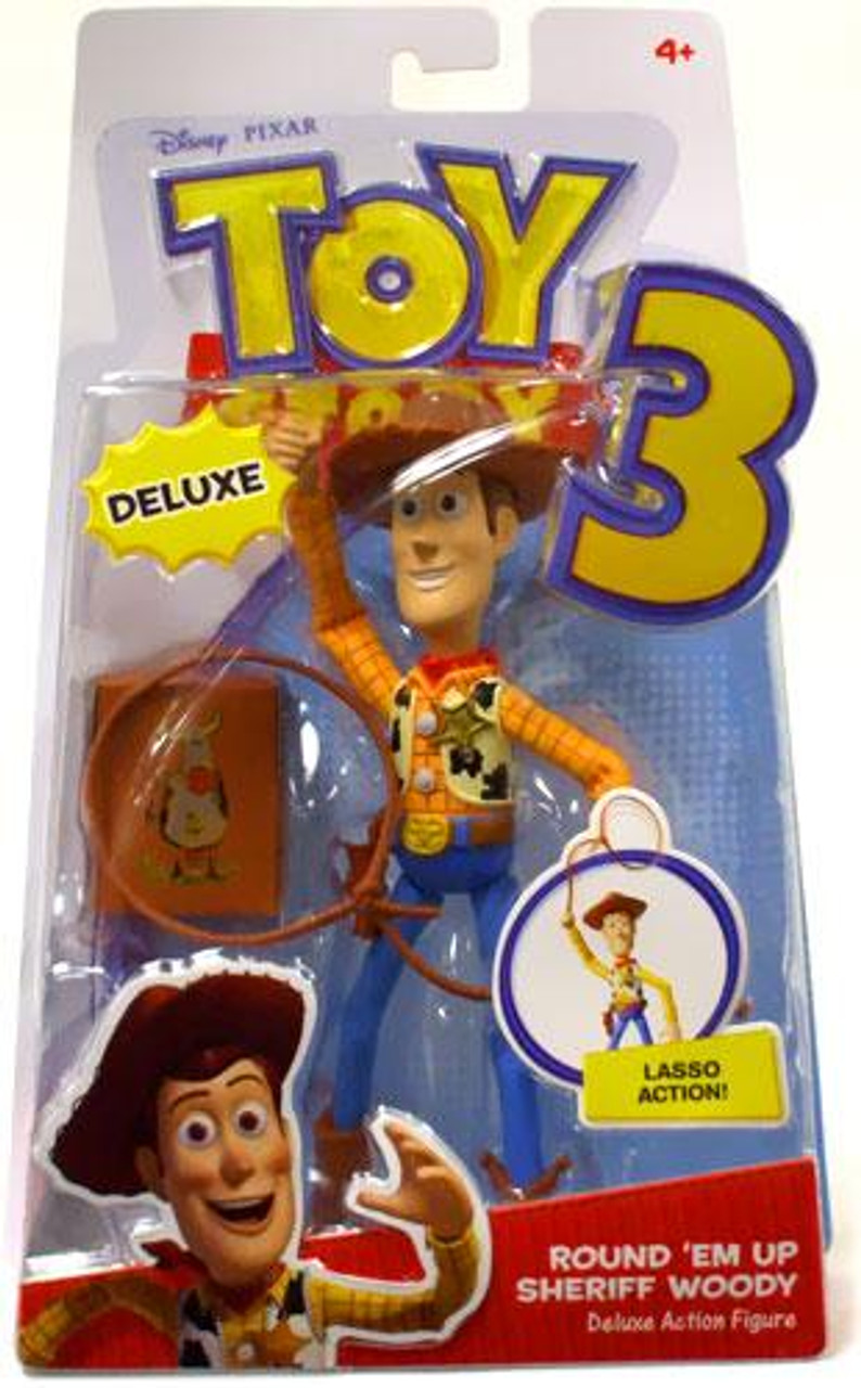Toy Story 3 Deluxe Woody Action Figure [Round 'Em Up Sheriff]