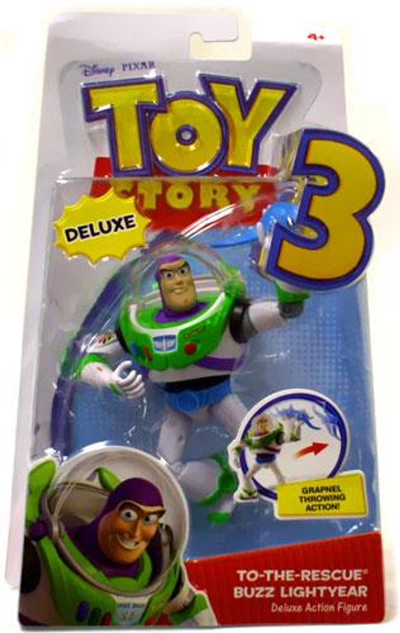 Toy Story 3 Deluxe Buzz Lightyear Action Figure [To The Rescue]