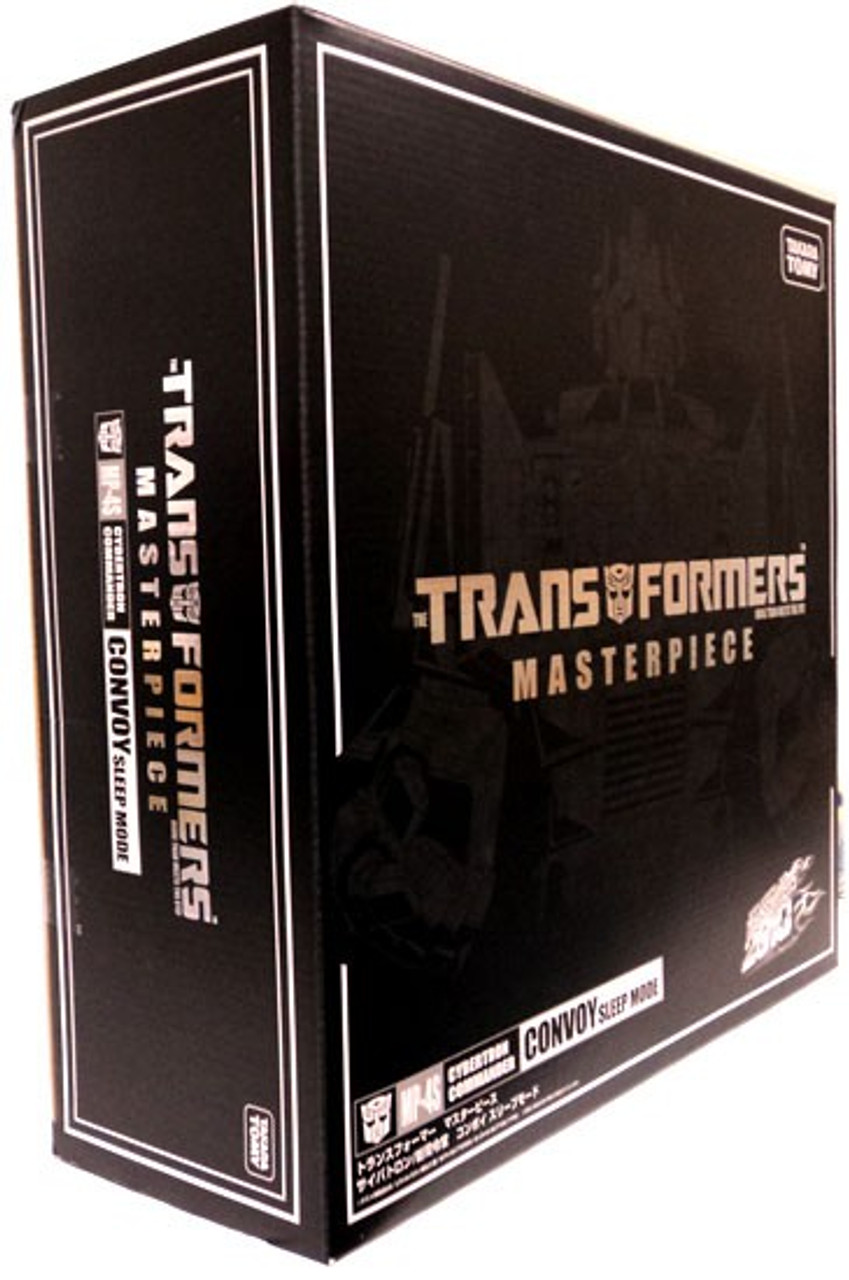 Transformers Japanese Masterpiece Collection Convoy Sleep Mode Optimus Prime Exclusive 1:24 Action Figure