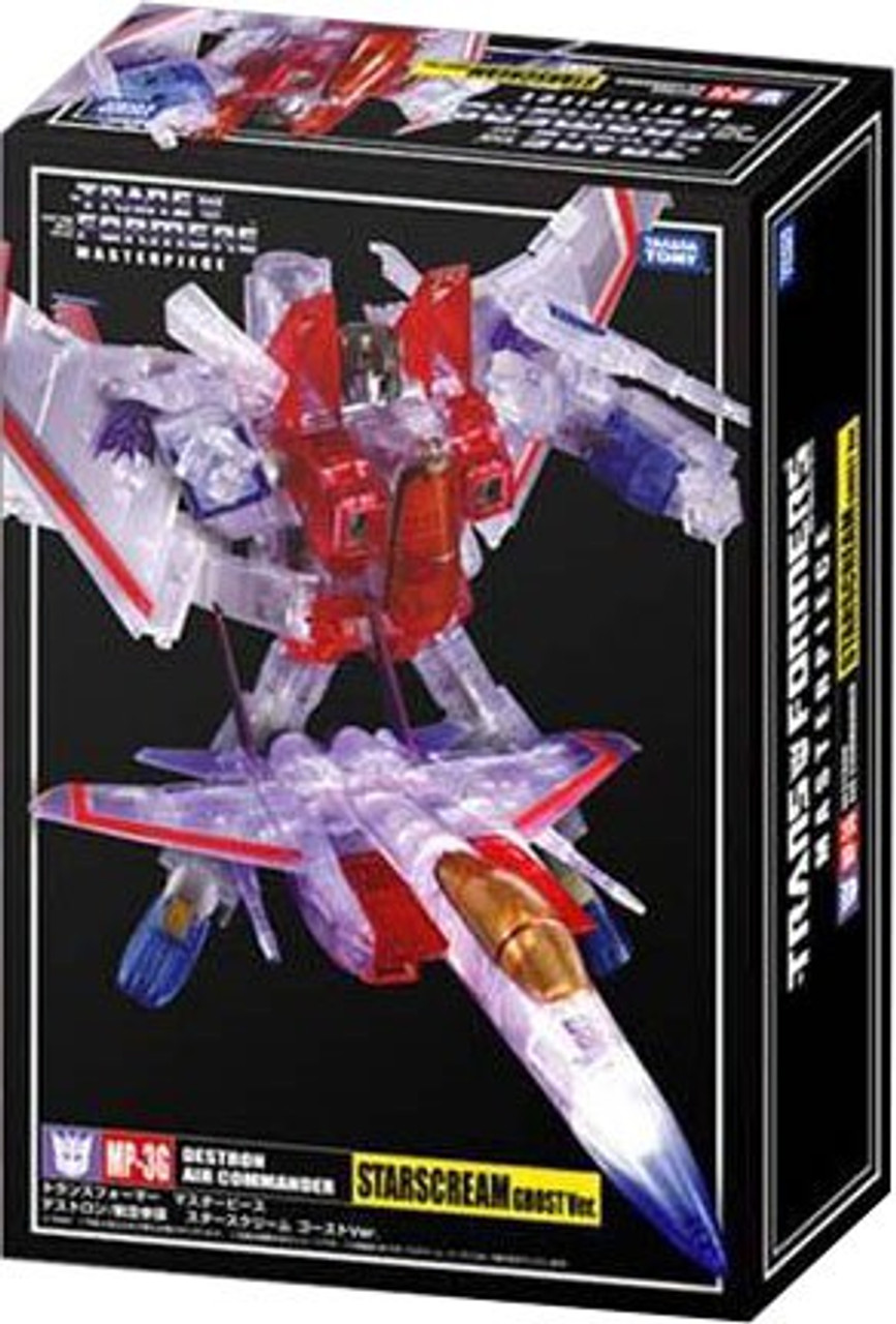 Transformers Japanese Masterpiece Collection Ghost Starscream Exclusive Action Figure MP-03G