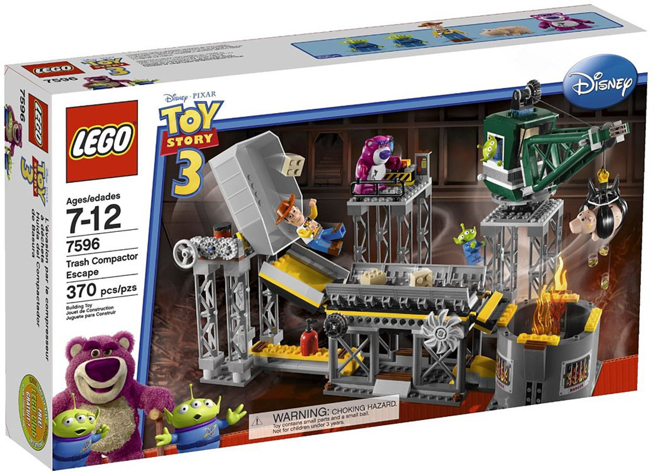 LEGO Toy Story 3 Trash Compactor Escape Set #7596