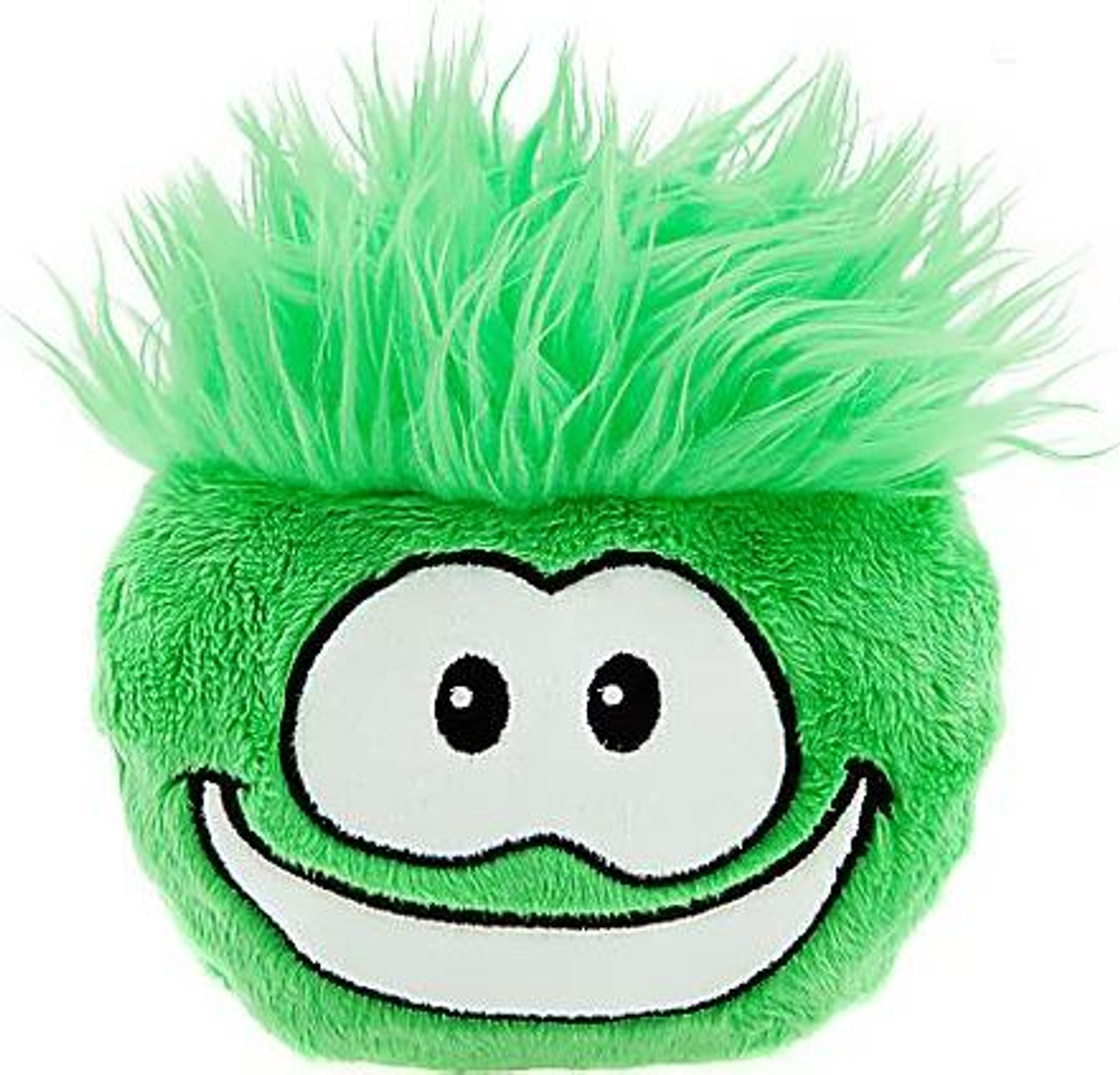 Club Penguin Green Puffle 6-Inch Plush