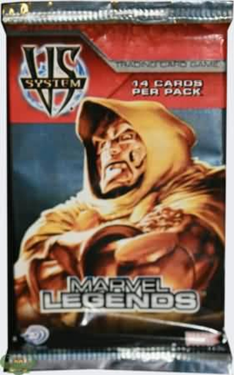 VS System Trading Card Game Marvel Legends Booster Pack