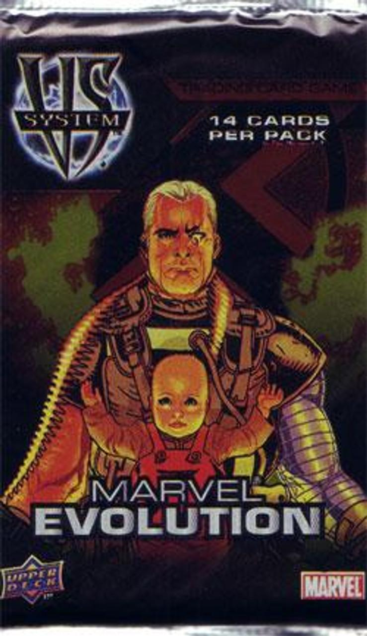 VS System Trading Card Game Marvel Evolution Booster Pack