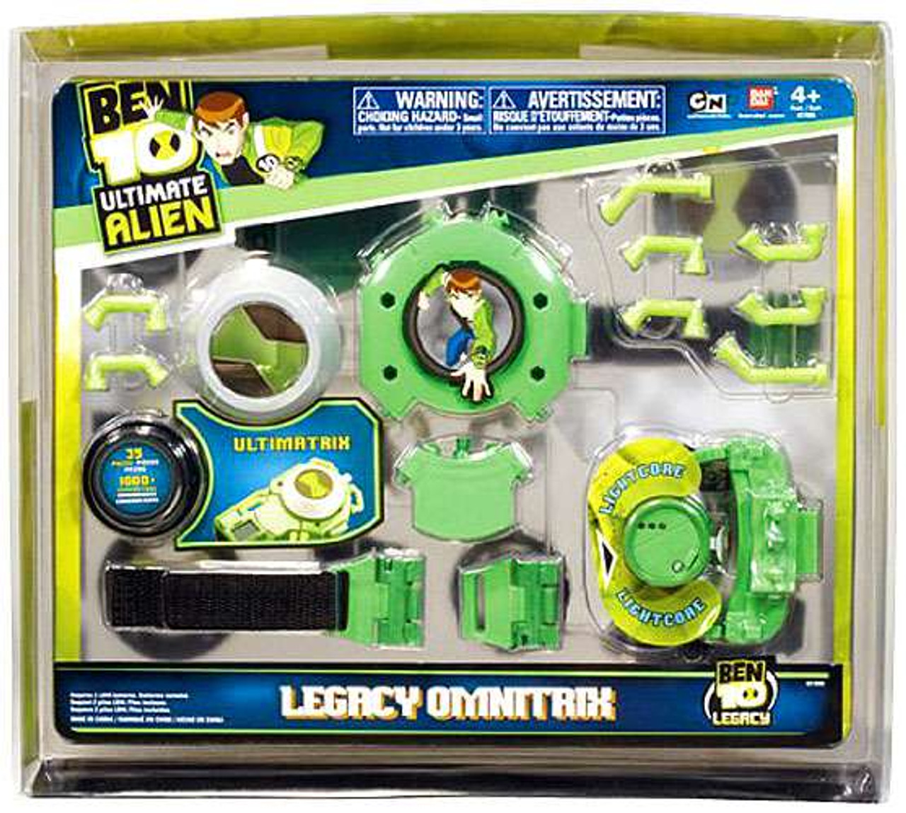 Ben 10 Ultimate Alien Legacy Omnitrix Roleplay Toy