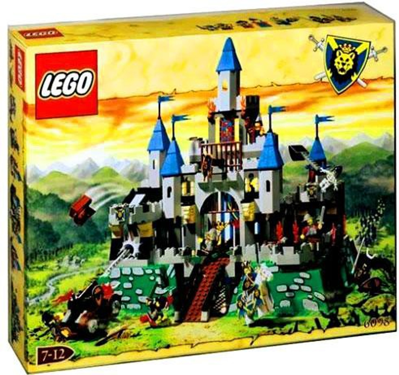 LEGO Knights Kingdom King Leo's Castle Set #6098