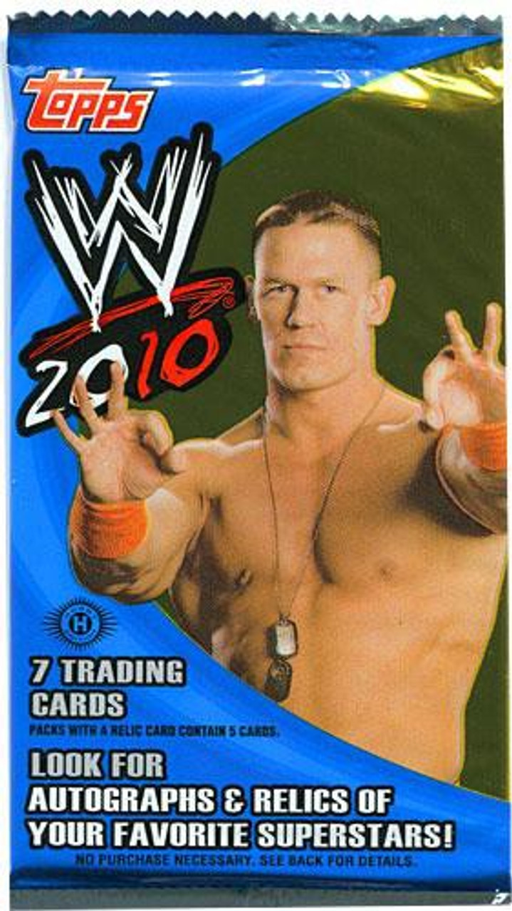WWE Wrestling 2010 WWE Trading Card Pack