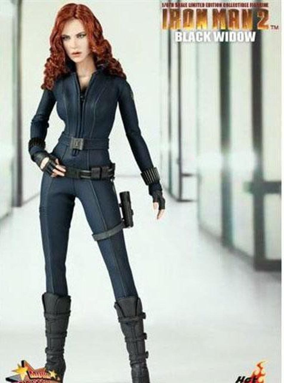 Iron Man 2 Movie Masterpiece Black Widow 1/6 Collectible Figure