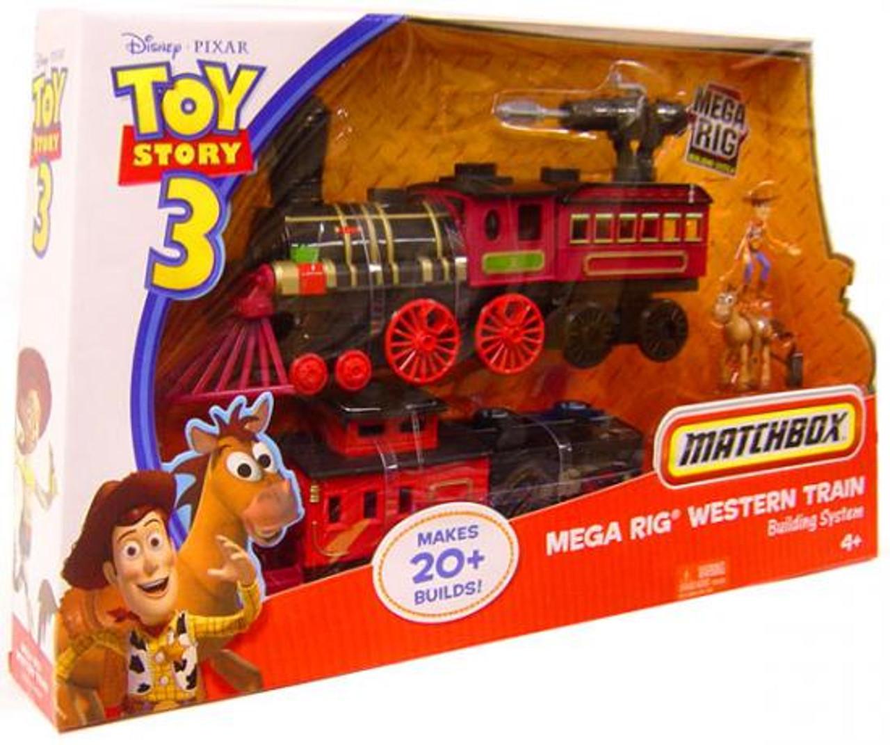 Toy Story 3 Matchbox Mega Rig Western Train